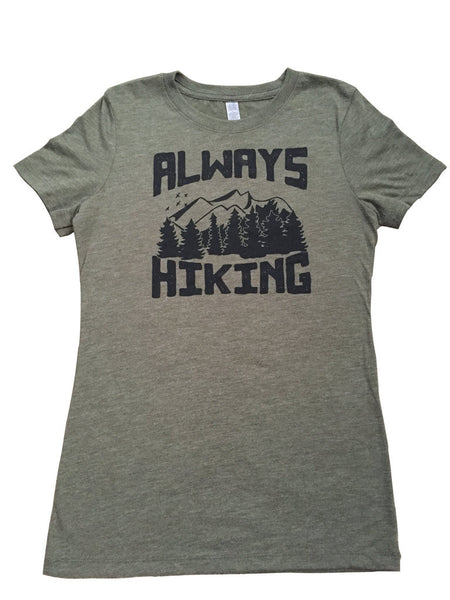 Always Hiking Crew Neck Tee - Always CA