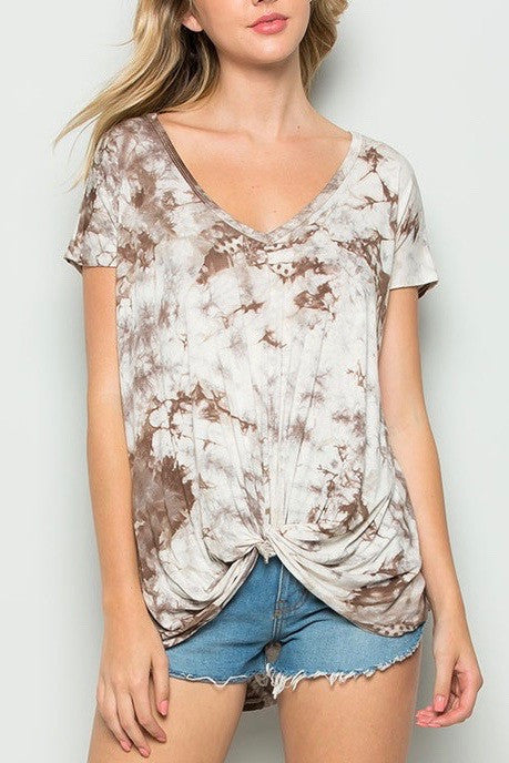 Daydreamer Front Knot Top