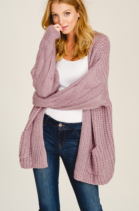 Shelly Chunky Knit Cardigan