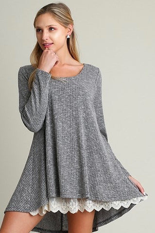 Belle Light Ribbed Cardigan