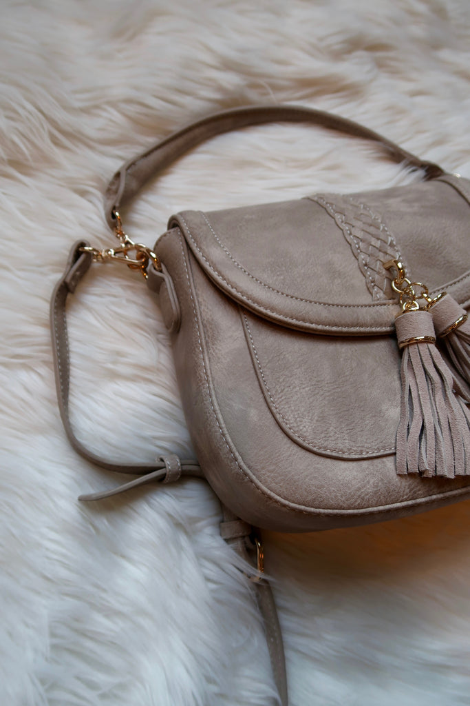 Anika Satchel in Light Sandstone