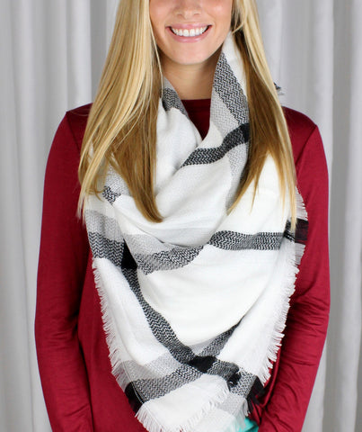 Coco Two Toned Scarf