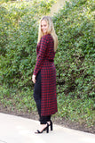 Carly Maxi Top in Plaid