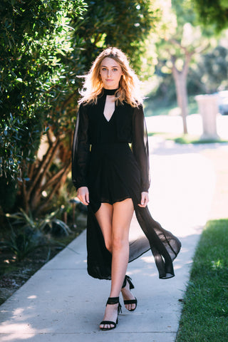 Florence Fringe + Suede Dress