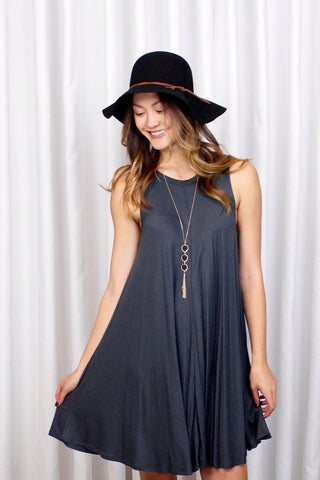 Toni Tiered Swing Dress