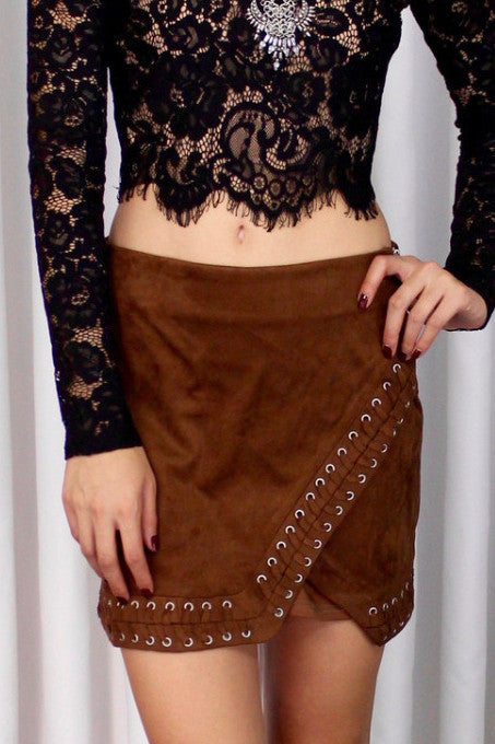 Festival Girl Asymmetrical Skirt
