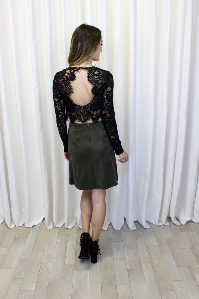 Renee Embroidered Skirt