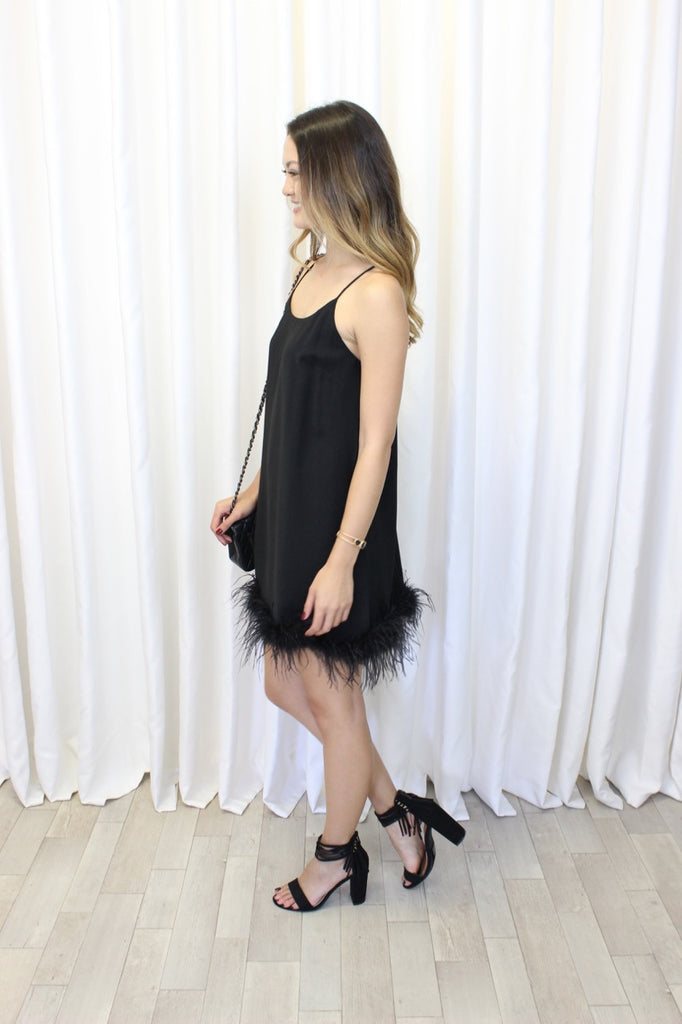 Marie Ostrich Feather Dress