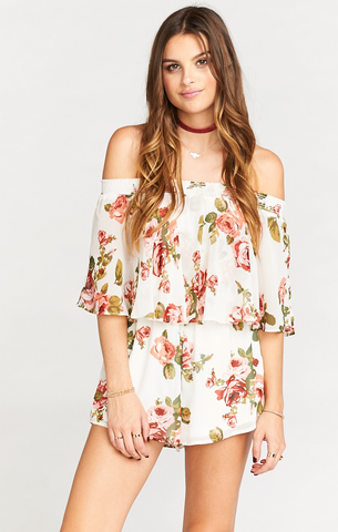 Beril Evening Maxi Romper