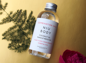 Coconut Oil Makeup Remover by NIU BODY