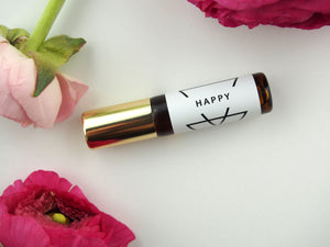 """Happy"" Aromatherapy Roller by The Willow Field"