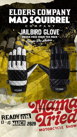 Jailbird gloves Elders+MadSquirrel