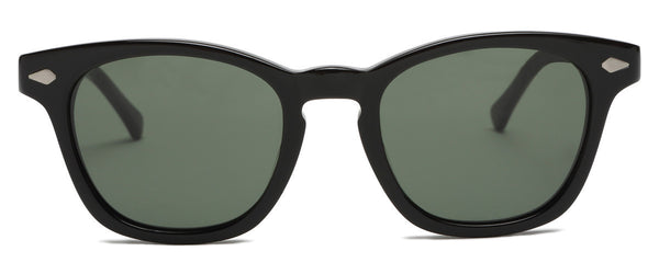 Class of 67 Black Round Sunglasses