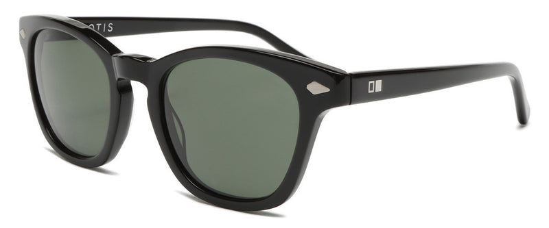 Class of 67 Black Round Sunglasses Angle 1