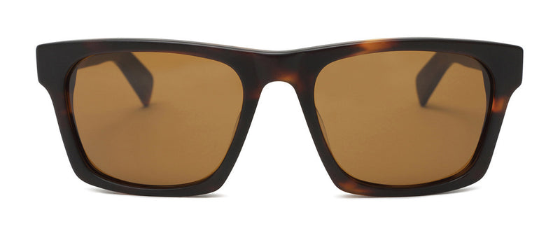 Dive Bar Tortoise Mens Square Sunglasses