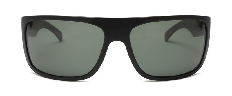 El Camino Matte Black Designer Wrap Around Sunglasses