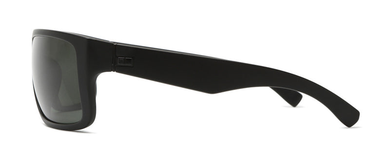 El Camino Matte Black Designer Wrap Around Sunglasses Side 1