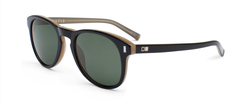 Nowhere To Run Black Circle Sunglasses Angle 1