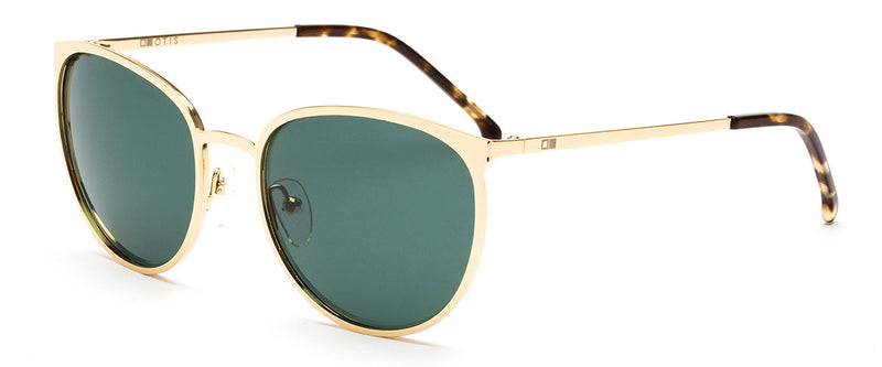 Rumours Gold Cat Eye Frames Angle 1