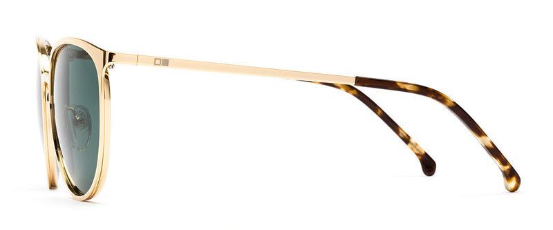 Rumours Gold Cat Eye Frames Side 1
