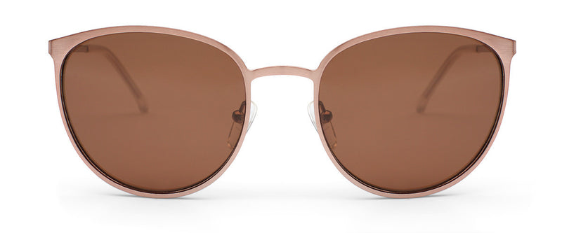 Rumours Rose Gold Cat Eye Sunglasses