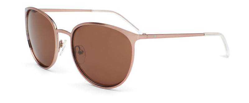 Rumours Rose Gold Cat Eye Sunglasses Angle 1