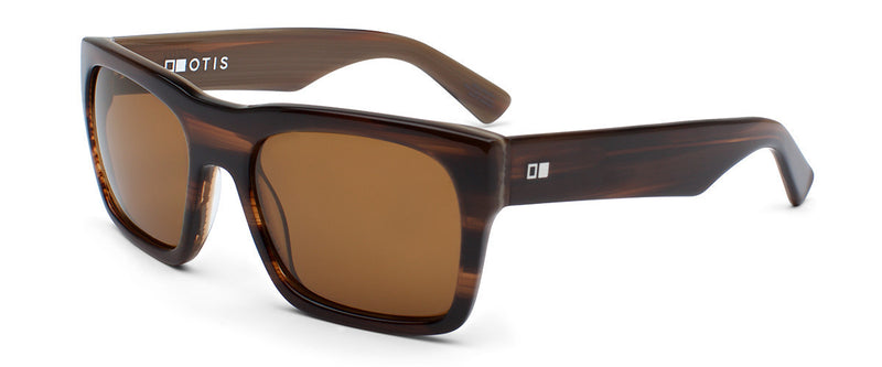 Stones Throw Marblewood Square Framed Sunglasses Angle 1