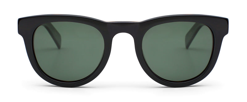 Up All Night Tortoise Unisex Round Sunglasses