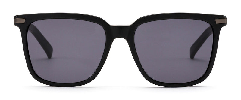 Crossroads Black Square Sunglasses