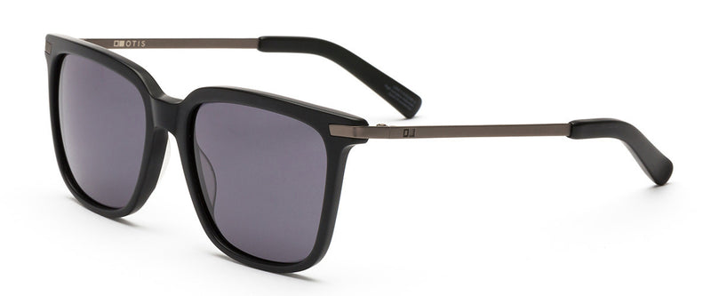 Crossroads Black Square Sunglasses Angle 1