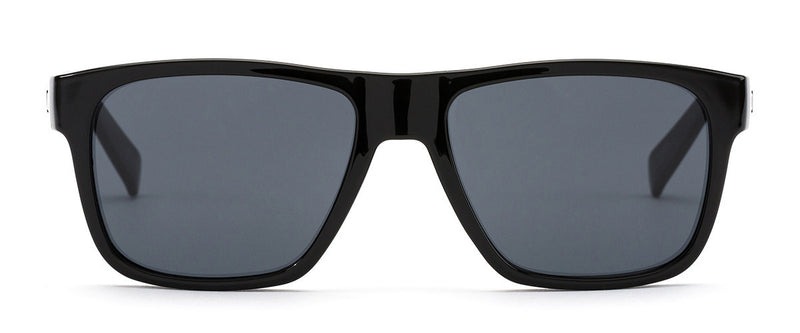 Life On Mars Black Wayfarer Sunglasses For Men