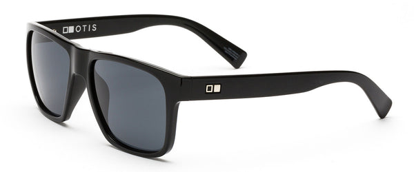 Life On Mars Black Wayfarer Sunglasses For Men Angle 1