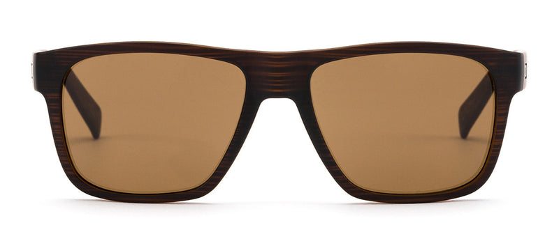Life On Mars Brown Mens Wayfarer Sunglasses