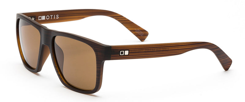Life On Mars Brown Mens Wayfarer Sunglasses Angle 1
