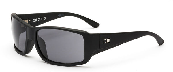 Pacifica Black Wrap Around Sunglasses Angle 1