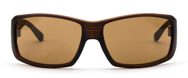 Pacifica Brown Wrap Around Sunglasses