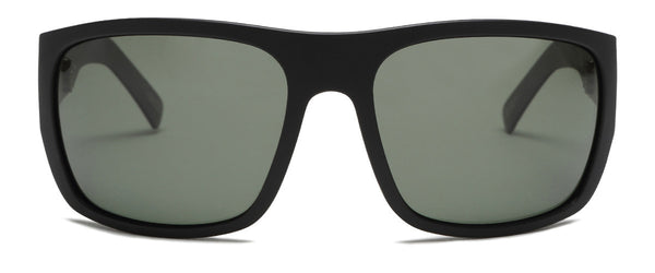 Tough Love Matte Black Wrap Around Shades