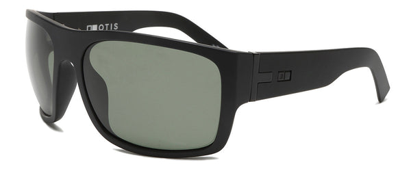 Tough Love Matte Black Wrap Around Shades Angle 1