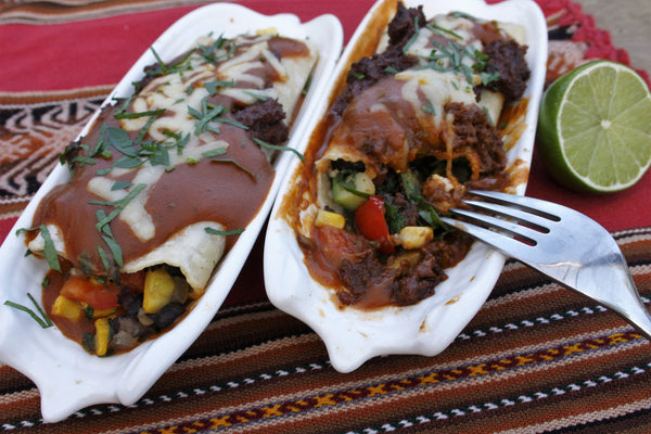 Black Bean and Vegetable Enchiladas