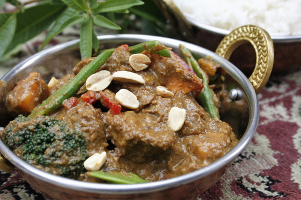 Malaysian Beef Curry with Vegetables