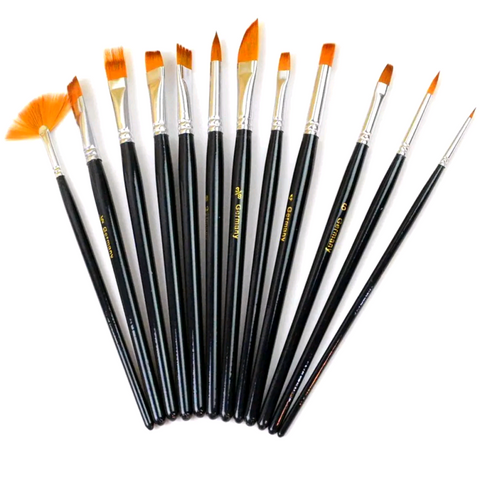 12Pc Pro-Tools Brush Set
