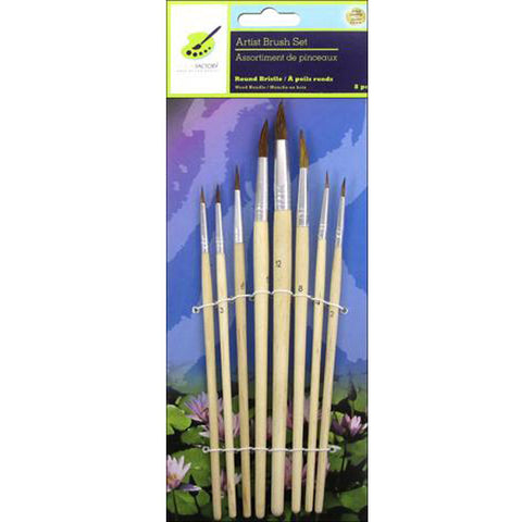 8pc Brush Set