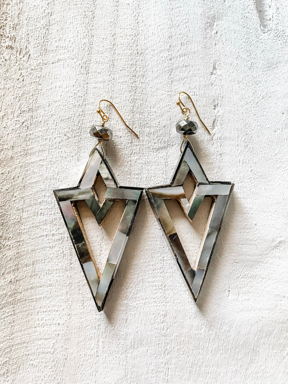 Iridescent Wakanda Earrings