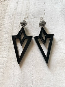 Black Wakanda Earrings