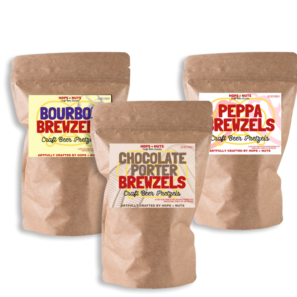 BREWZELS craft pretzels sampler pack
