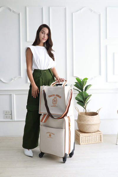Palm Spring Canvas Luggage