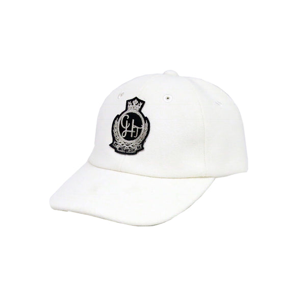 White Canvas Cap