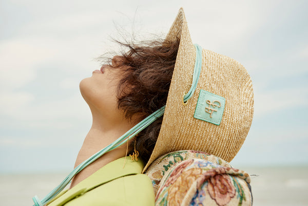 Fringe Summer Straw Hat