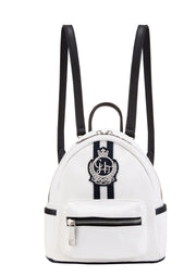 CANVAS White Mini Backpack