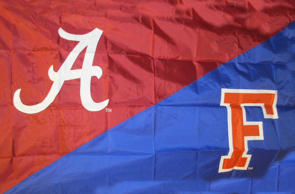 Alabama & Florida House Divided Flag